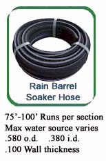 580 Rain Barrel Hose