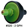 #320-10  2 GPH Pressure Compenstaing Emitters (Bag of 10)