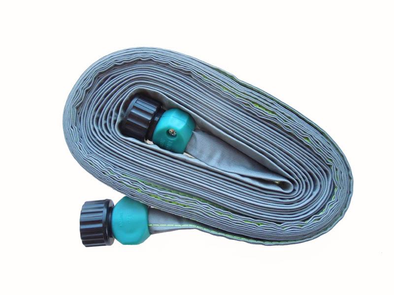 25 39 flat rain barrel soaker hose by mr soaker hose works with rain barre. Black Bedroom Furniture Sets. Home Design Ideas