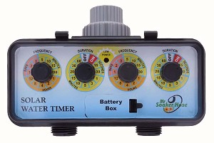 #543 - 2 Dial Dual Outlet Solar Timer