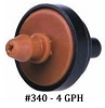 #340-10  4 GPH Pressure Compenstaing Emitters (Bag of 10)