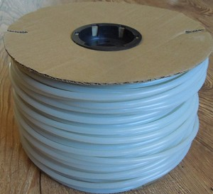 "#414-500 Clear/Opaque 1/4"" x  500' Micro Drip Irrigation Tubing"