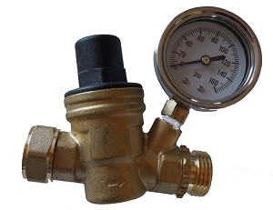 Brass adjustable regulator