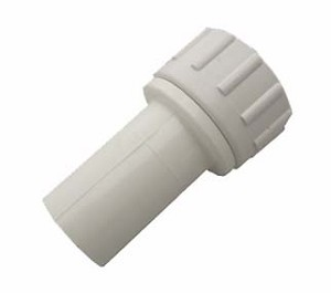 "#GHS568 Female Hose Thread Swivel x 1/2"" PVC Spigot"