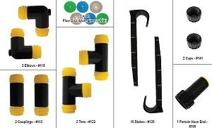 #146 Soaker Hose Parts Kit